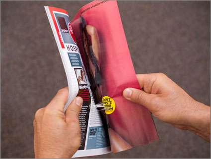 Sticky Sperm Print Ads