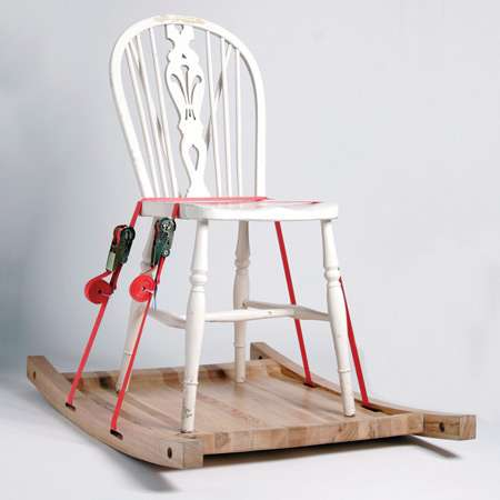 Repurposed Rockers Rocking Chair Platforms