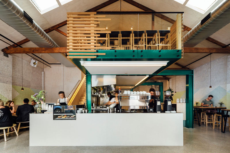 Repurposed Minimalist Cafes