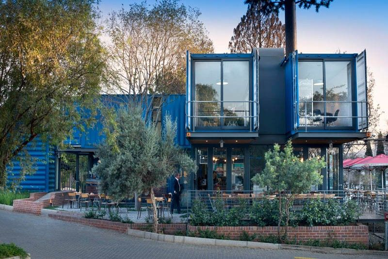Shipping Container Coffee Shops Repurposed Shipping