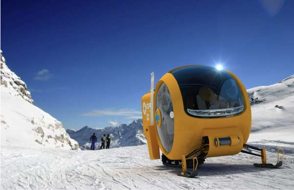 Ski-Slope Ambulances