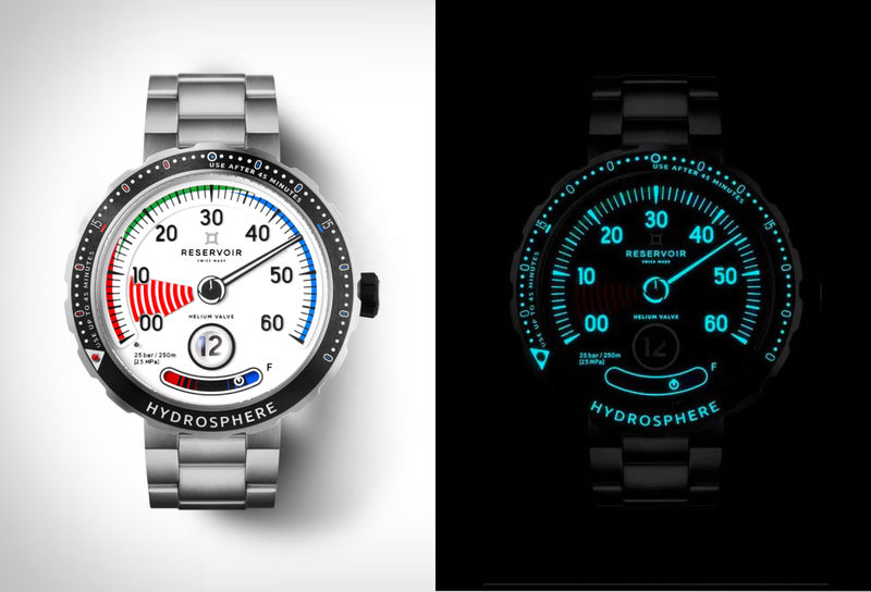 Pressure Gauge-Inspired Timepieces