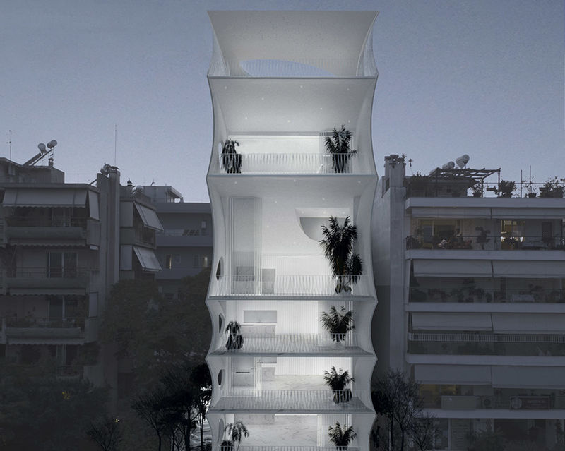 Airy Athens Residential Buildings