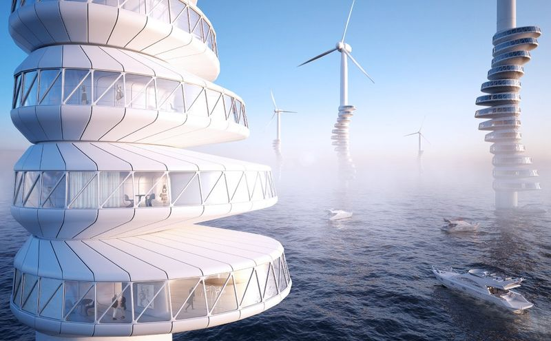 Wind Turbine Residences