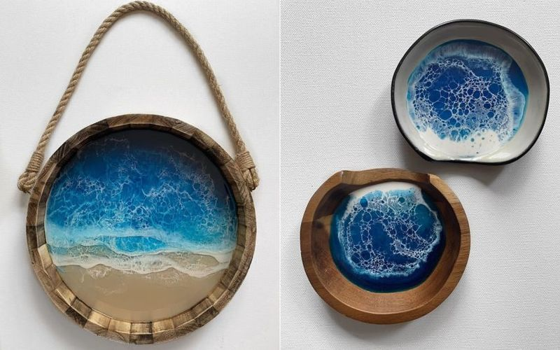 Oceanic Resin Artwork Collections