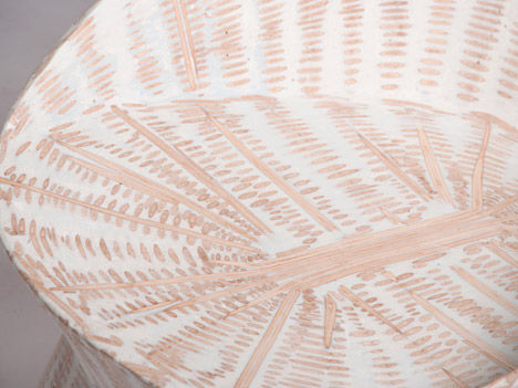 Texturized Resin Furniture