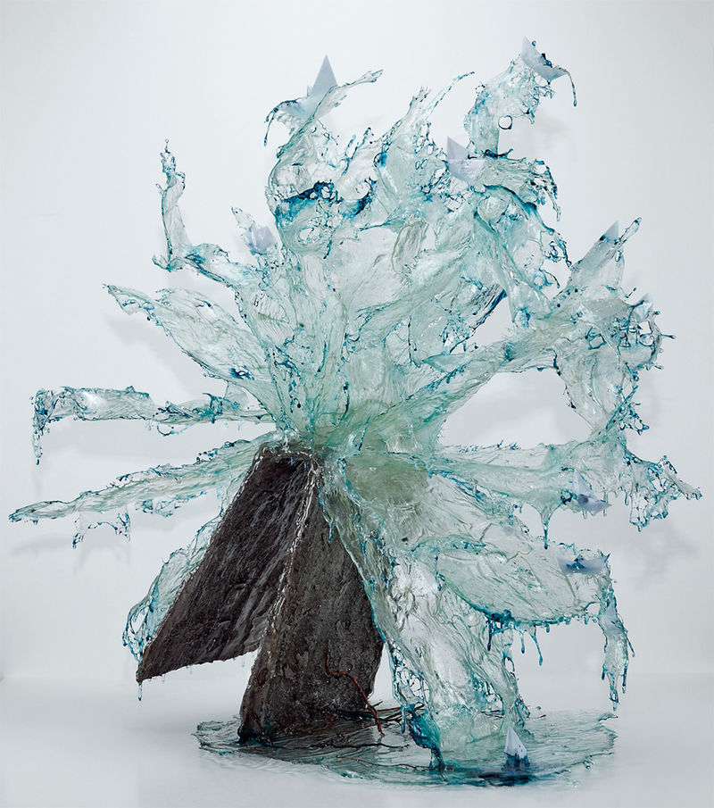 Fluid Resin Sculptures