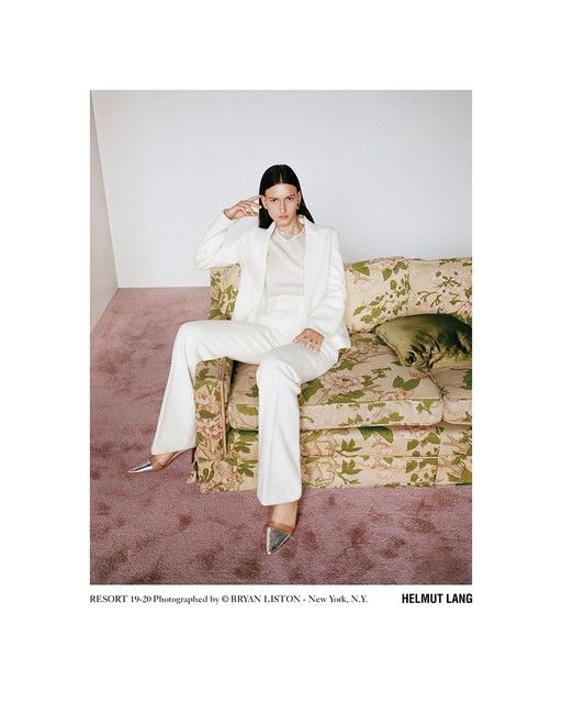 Sophisticated Monochromatic Fashion - Helmut Lang's Resport 2020 Collection Boasts Supreme Elegance (TrendHunter.com)