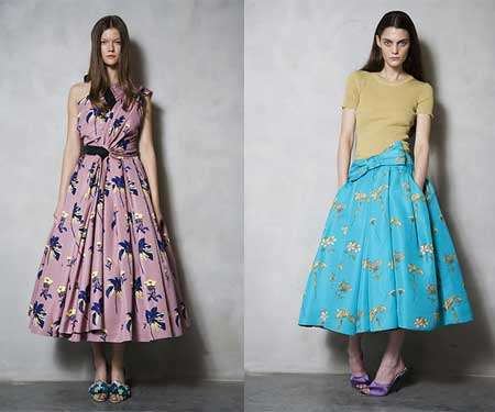 Resort Collection by Prada Exudes Retro Style