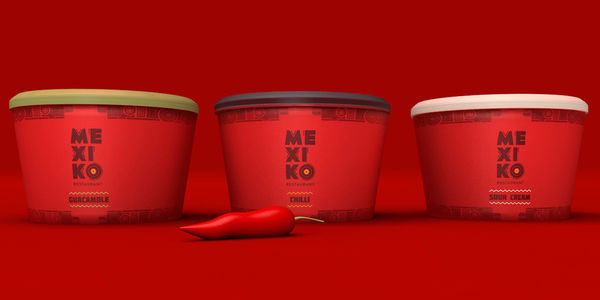 Sizzling Red-Hot Packaging