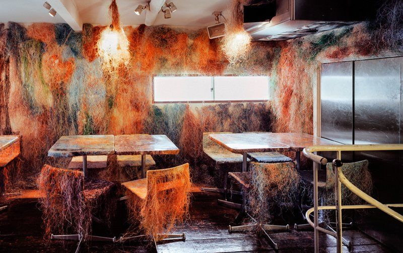 Decaying Restaurant Decor