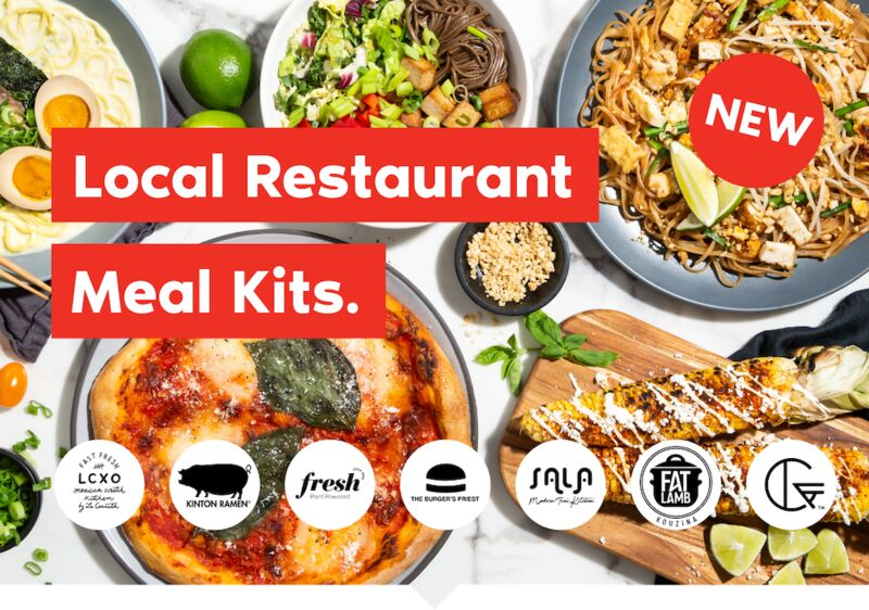 Local Restaurant Meal Kits