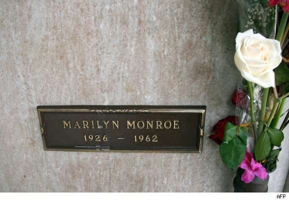 Grave of celebrity pic