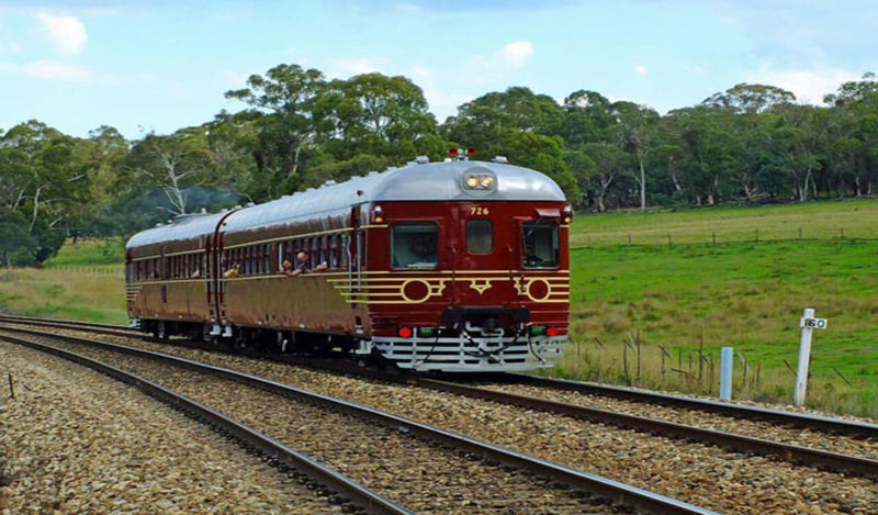 Solar Panelled Heritage Trains