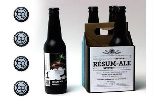 Resume Beer Branding