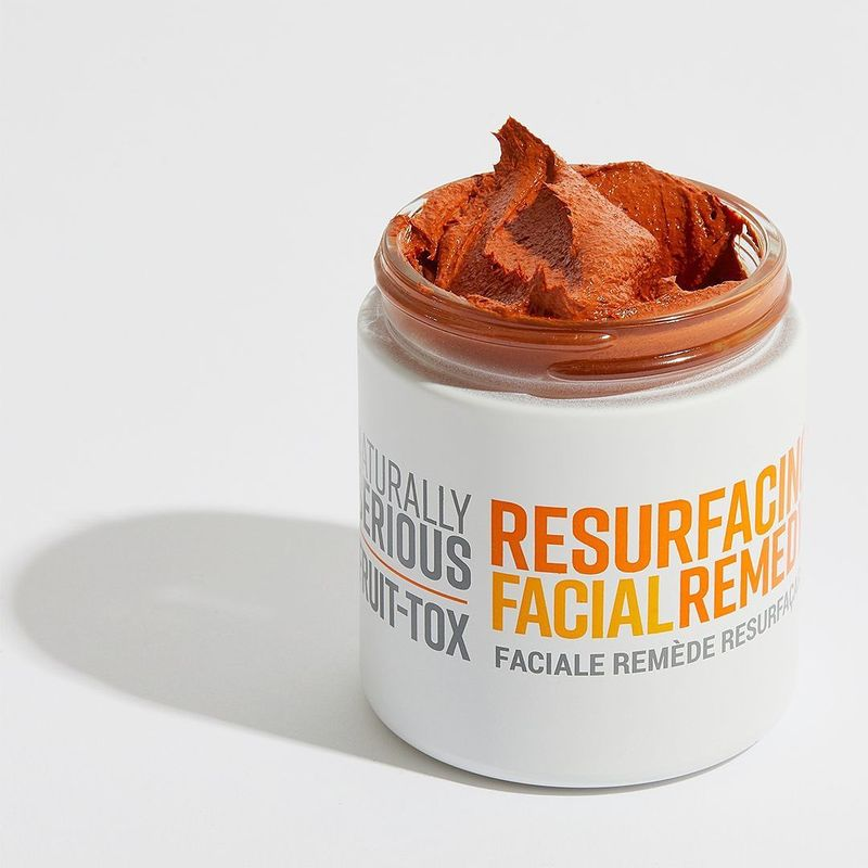 Anti-Pollution Clay Masks - Naturally Serious' Fruit-Tox Resurfacing Facial Remedy is Detoxifying (TrendHunter.com)