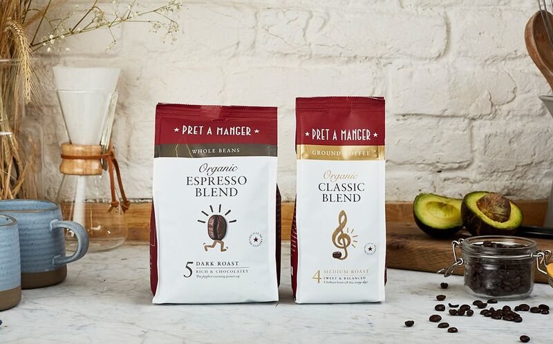 Cafe Brand Retail Coffees