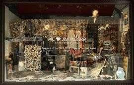 Retail Window Tributes
