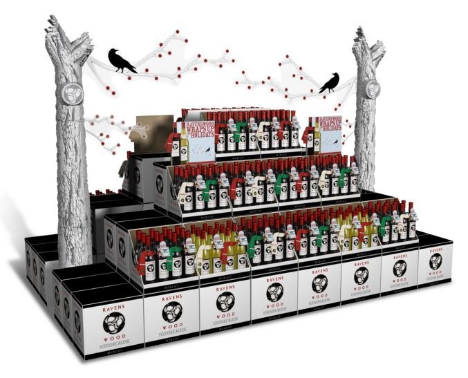 Spooky Wine Kiosks