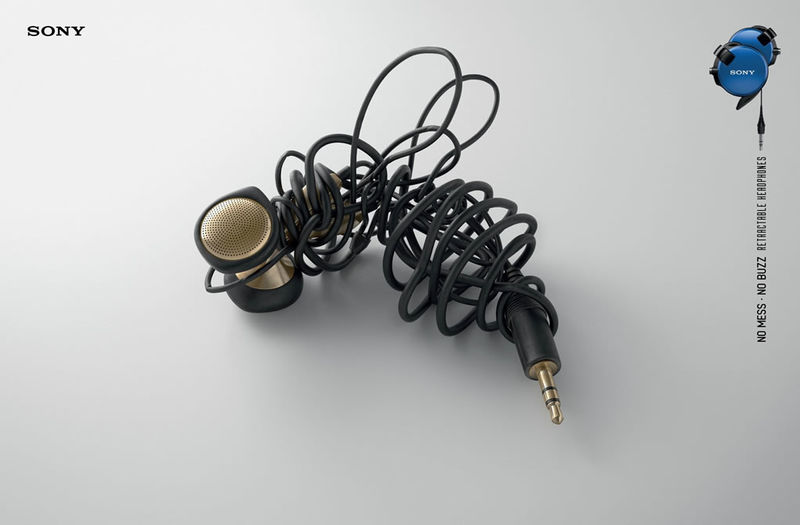 Tangled Headphone Ads