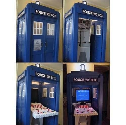 Retro Arcade Booths