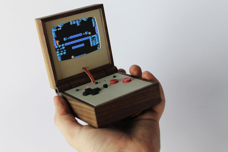 Wooden Gaming Consoles