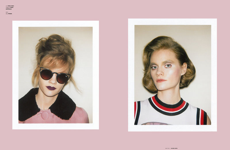 Nostalgic Beauty Editorials