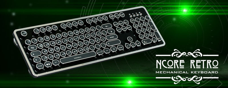 Retro Mechanical Keyboard Peripherals