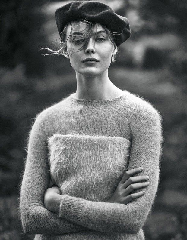 Retro Knitwear Editorials