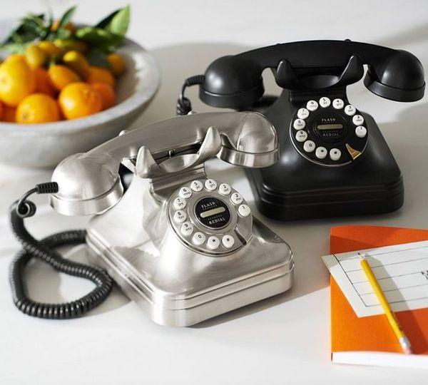 Retro Dial-Imitating Phones