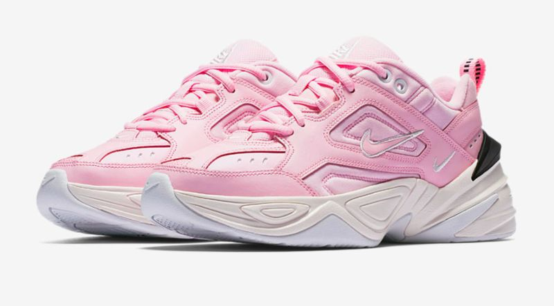 Chunky Millennial Pink Sneakers