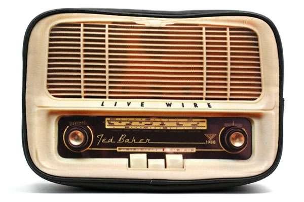 Retro Radio-Embedded Purses