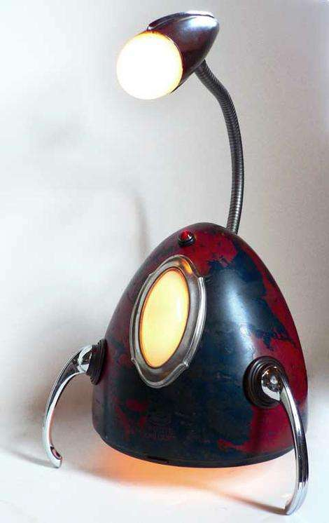 Retro-Futuristic Lighting