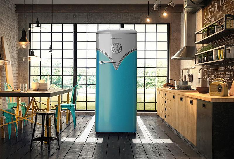 Minibus-Inspired Refrigerators