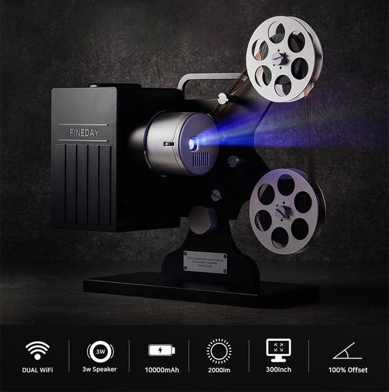 Vintage-Inspired Projectors