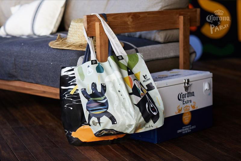 Ocean Plastic Reusable Bags