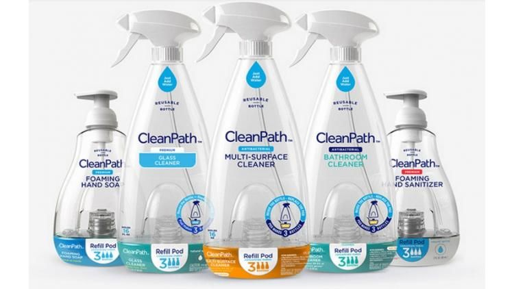 Refillable Cleaning Bottles