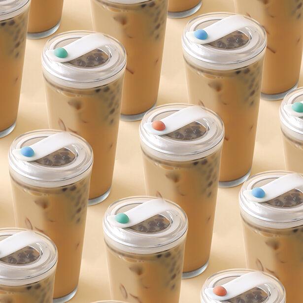 Straw-Free Bubble Tea Cups
