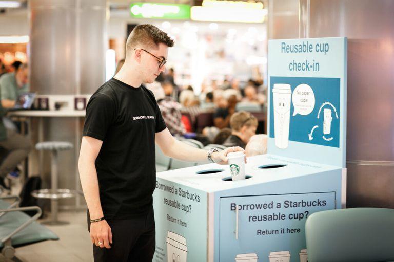 Reusable Airport Cup Programs