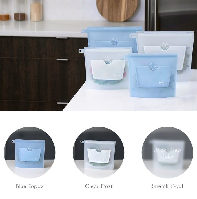 Sustainable Silicone Food Bags