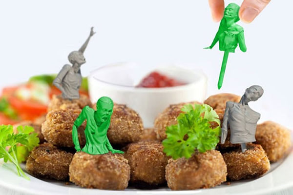Zombified Reusable Toothpicks