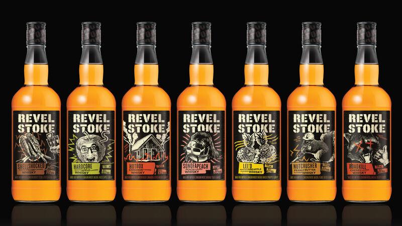 High-Energy Flavored Whiskeys