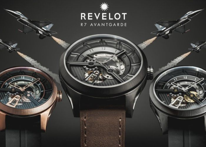 Mechanical Jet Fighter Watches