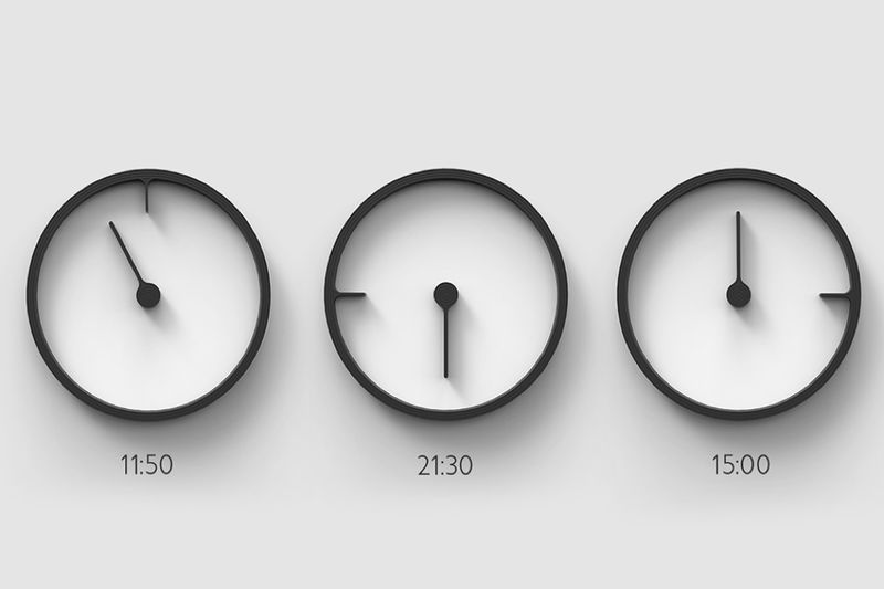 Unorthodox Rotating Clocks