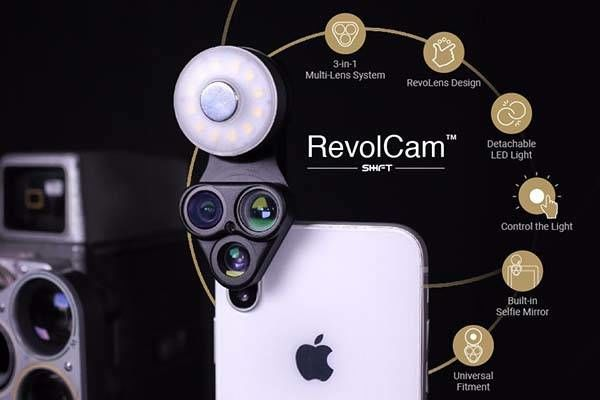Smartphone-Enhancing Camera Attachments
