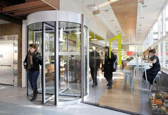 Energy-Generating Revolving Doors