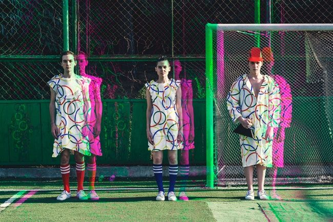 Holographic Streetwear Catalogs