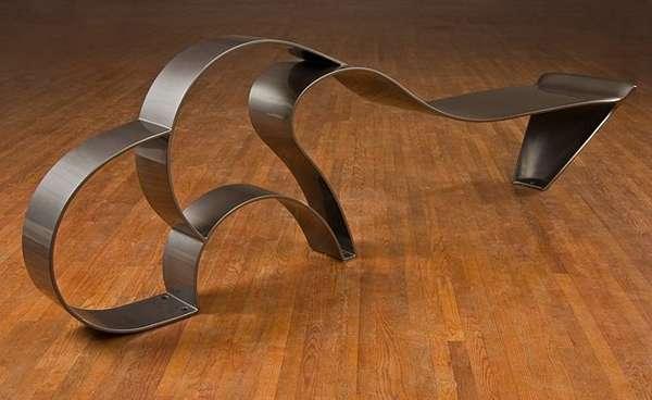 Ribbon-Inspired Seating