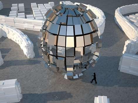 Disco Ball Architecture