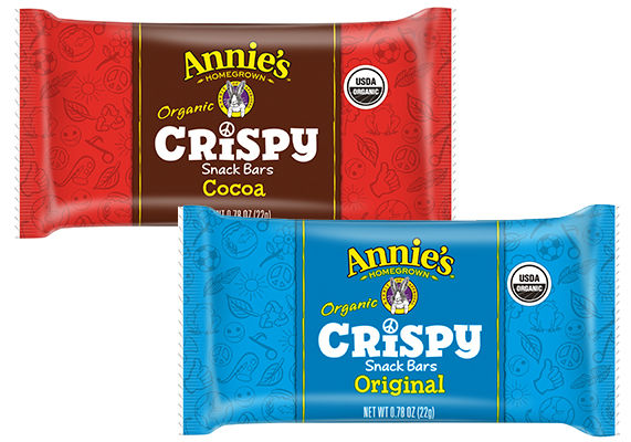 Organic Rice Crisp Snacks